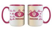 Indiana Hoosiers 15oz Mom Mug
