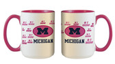 Michigan Wolverines 15oz Mom Mug