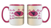 West Virginia Mountaineers 15oz Mom Mug