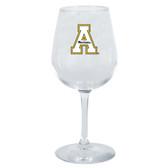 Appalachian State Mountaineers 12.75oz Decal Wine Glass