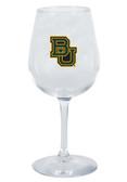 Baylor Bears 12.75oz Decal Wine Glass
