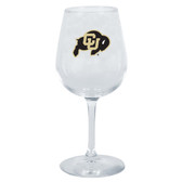 Colorado Buffaloes 12.75oz Decal Wine Glass