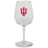 Indiana Hoosiers 12.75oz Decal Wine Glass
