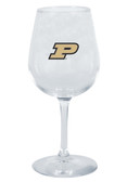 Purdue Boilermakers 12.75oz Decal Wine Glass