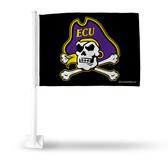 Easy Carolina Jolly Black Car Flag