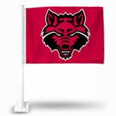 Arkansas State Red Wolves Car Flag #2