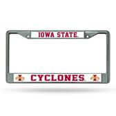 Iowa Hawkeyes Cyclones Chrome Frame