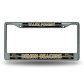Wake Forest Demon Deacons Bling Chrome Frame
