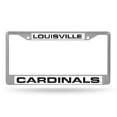 Louisville Cardinals  LASER Chrome Frame