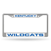 Kentucky Wildcats  LASER Chrome Frame