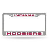 Indiana Hoosiers  LASER Chrome Frame