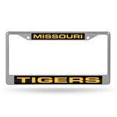 Missouri Tigers  LASER Chrome Frame