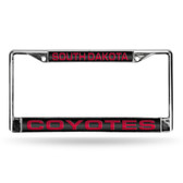 South Dakota Jackrabbits LASER Chrome Frame