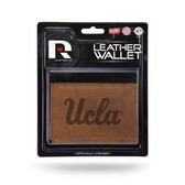 UCLA Bruins Leather Trifold Wallet