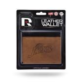 South Dakota Jackrabbits ST Leather Trifold Wallet