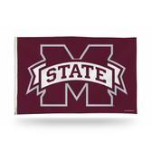 Mississippi State Bulldogs Banner Flag