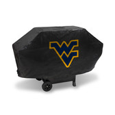 West Virginia Mountaineers DELUXE GRILL COVER (Black)