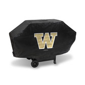 Washington Huskies DELUXE GRILL COVER (Black)