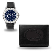 Penn State Nittany Lions Black Watch and Wallet