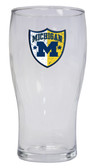Michigan Wolverines Pilsner Glass 16oz.