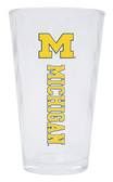 Michigan Wolverines Pint Glass 16oz.