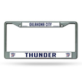Oklahoma City Thunder Chrome Frame