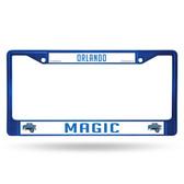 Orlando Magic BLUE COLORED Chrome Frame
