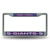 New York Giants  Bling Chrome Frame