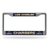 Los Angeles Chargers Bling Chrome Frame