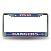 Texas Rangers - TX Bling Chrome Frame