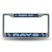 Tampa Bay Rays Bling Chrome Frame