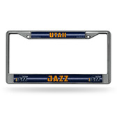 Utah Jazz Bling Chrome Frame
