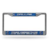 Dallas Mavericks Bling Chrome Frame