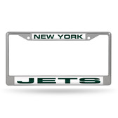 New York Jets  LASER Chrome Frame