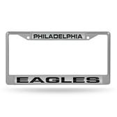 Philadelphia Eagles  LASER Chrome Frame