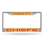 Kansas City Chiefs  LASER Chrome Frame