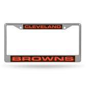 Cleveland Browns  LASER Chrome Frame