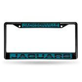 Jacksonville Jaguars BLACK LASER Chrome Frame