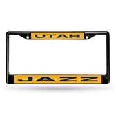 Utah Jazz BLACK LASER Chrome Frame