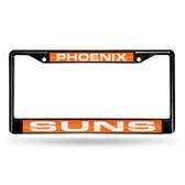 Phoenix Suns BLACK LASER Chrome Frame