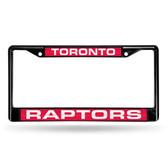 Toronto Raptors BLACK LASER Chrome Frame