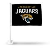 Jacksonville Jaguars BLACK Car Flag