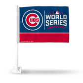 Chicago Cubs 2016 MLB WORLD SERIES BOUND Car Flag