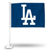 Los Angeles Dodgers 'LA' Car Flag