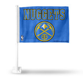 Denver Nuggets NEW LOGO Car Flag
