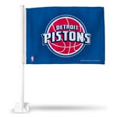 Detroit Pistons Car Flag