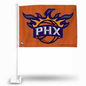 Phoenix Suns ORANGE Car Flag