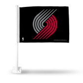 Portland Trail Blazers Car Flag
