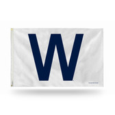 Chicago Cubs -W- 3 X 5 Banner Flag