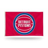 Detroit Pistons 3X5 Banner Flag
